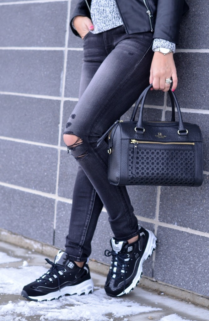 kate spade purse, black purse, kate spade outlet canada, kate spade black handbag