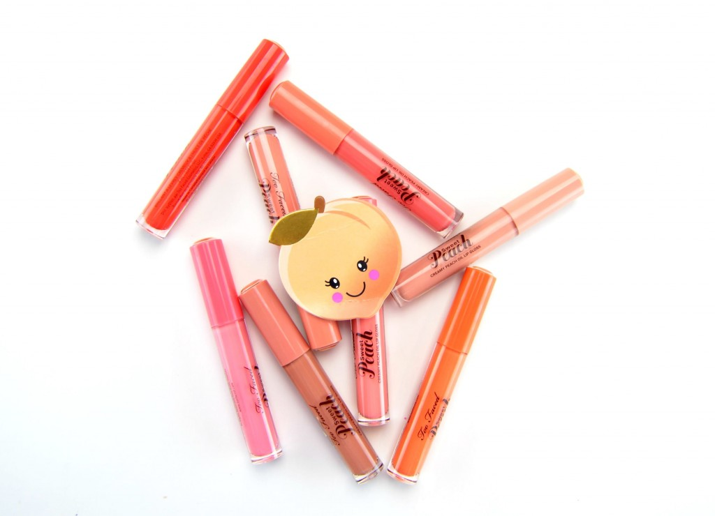 Too Faced Sweet Peach Creamy Lip Oil