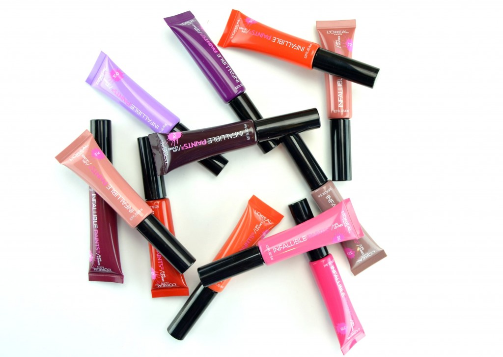 L'Oreal's Infallible Lip Paints, magazines Canada, fashionable, beauty products Canada, canadian beauty, best nail polish
