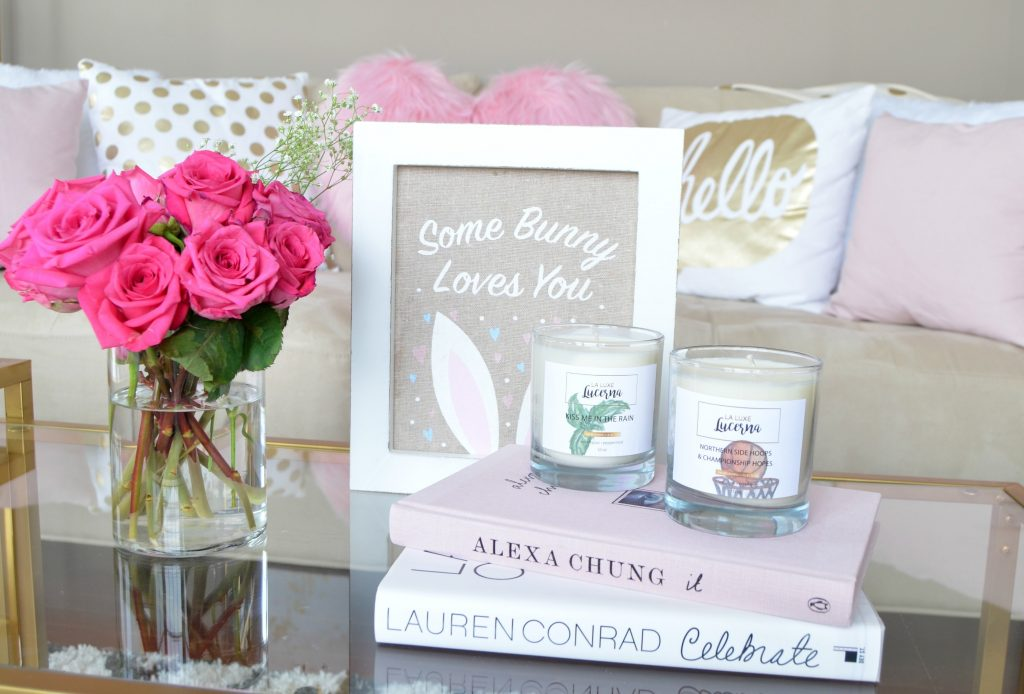 Soy candles, soy candle, spring home décor, home décor, interior designer, interior blogger, Canadian home design blog, home design, freshen up for spring, spring décor