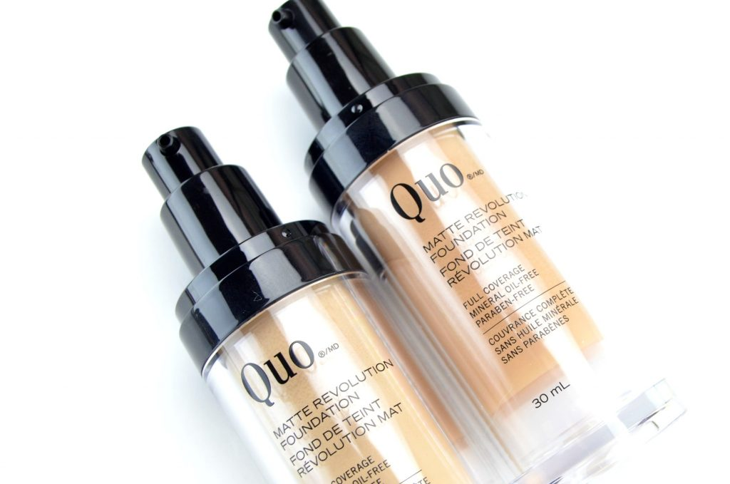 Quo Matte Revolution Foundation, best fashion blogs, blogger, best blogs, top fashion blogs, online shopping, canadian brands