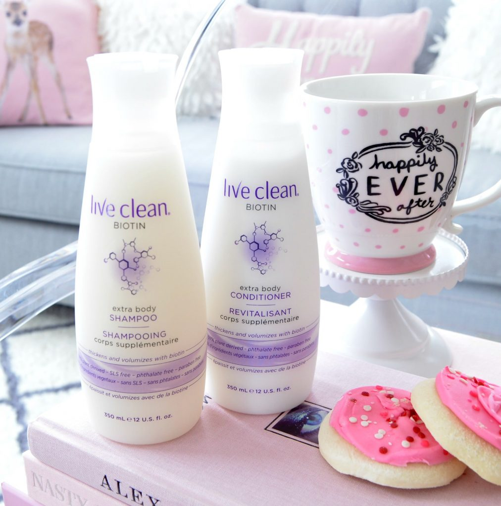 live clean Biotin Collection