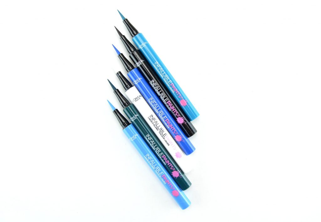 L'Oréal Infallible Paints Liquid Eyeliner, l'oreal eyeliner, l'oreal paints, best fashion blogs, blogger, best blogs, top fashion blogs, online shopping, canadian brands