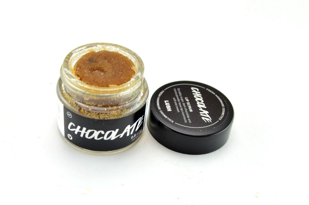 LUSH Chocolate Lip Scrub