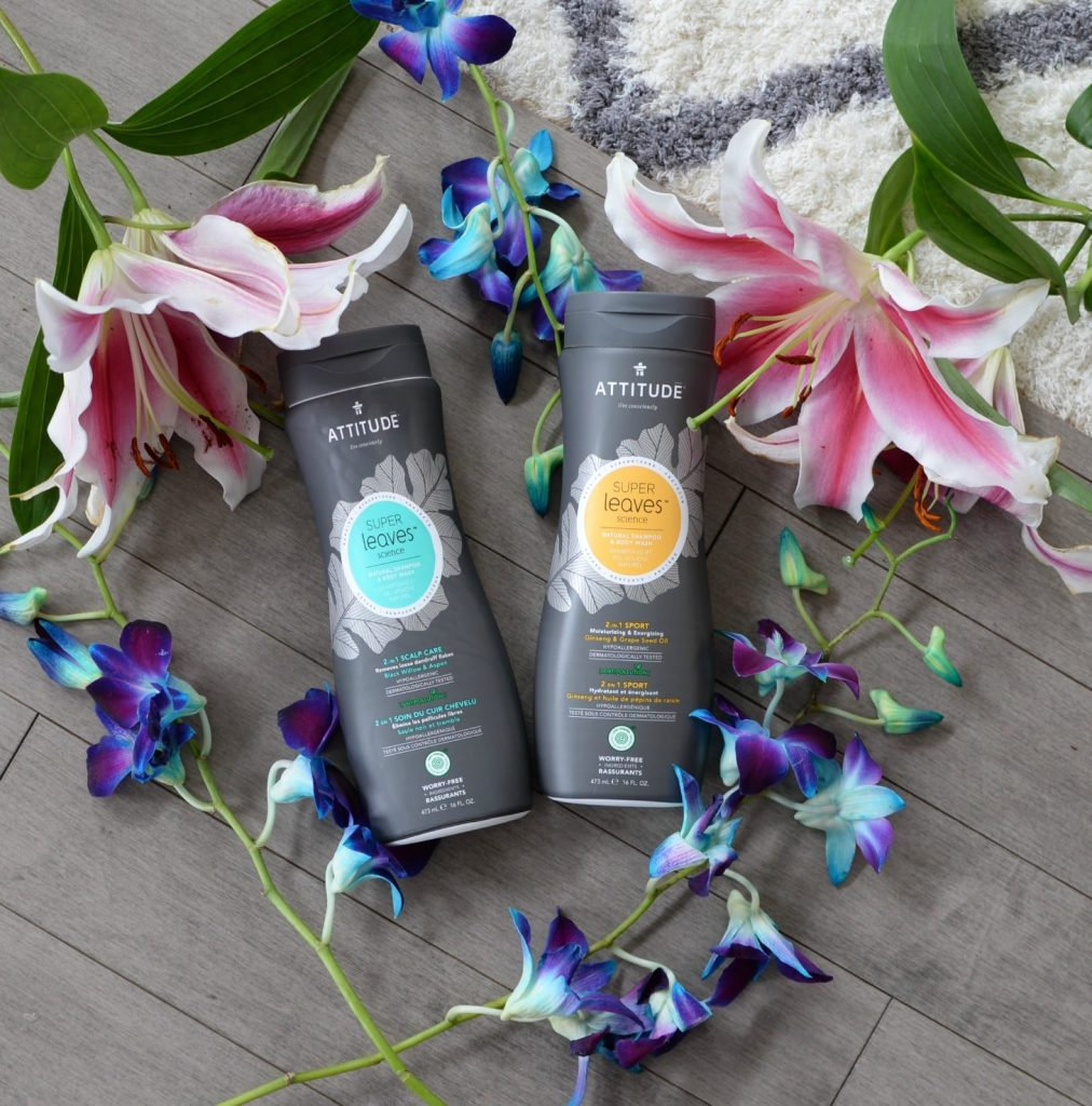 2-in-1 shampoos and body washes