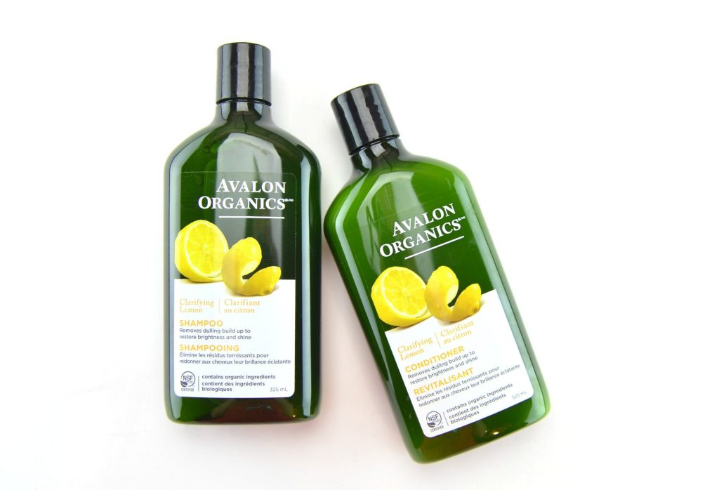 Avalon Organics Clarifying Lemon Conditioner