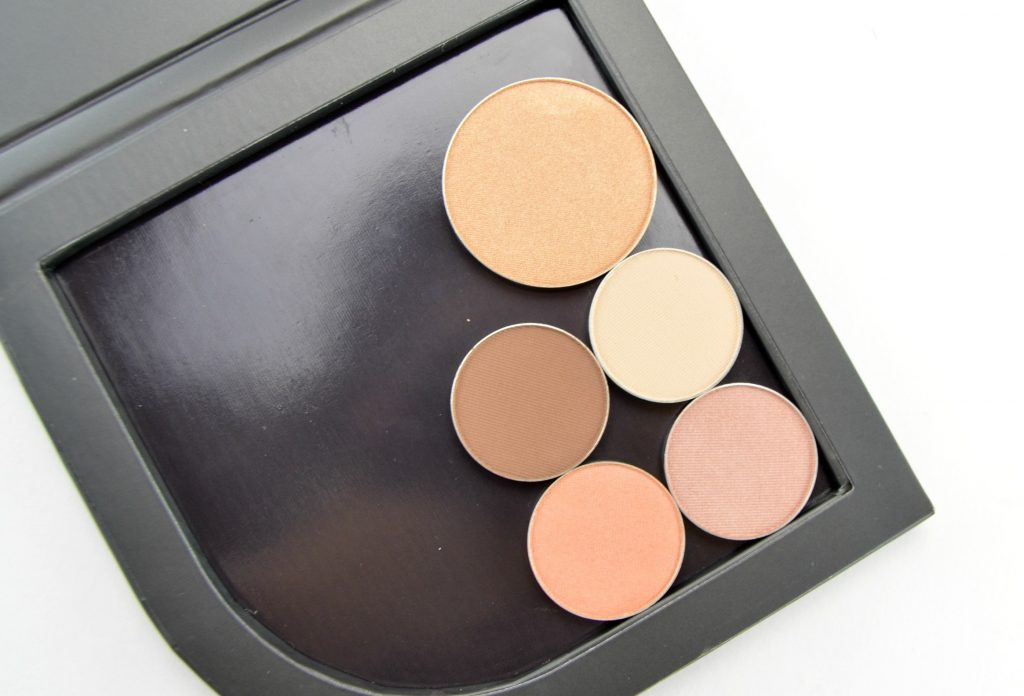 MUD eyeshadows