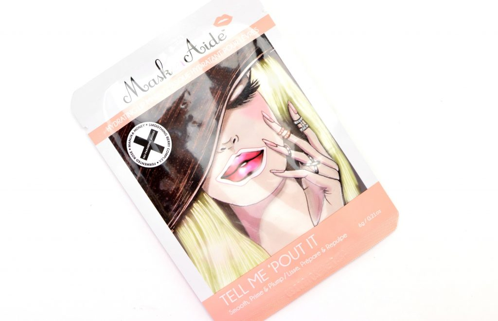 MaskerAide Tell Me 'Pout It hydrating lip masks