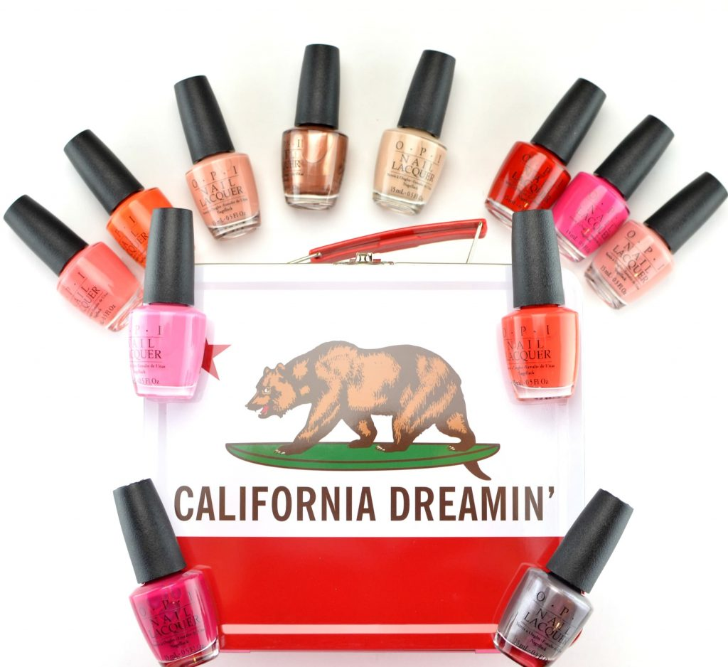 OPI California Dreaming Summer 2017 Collection