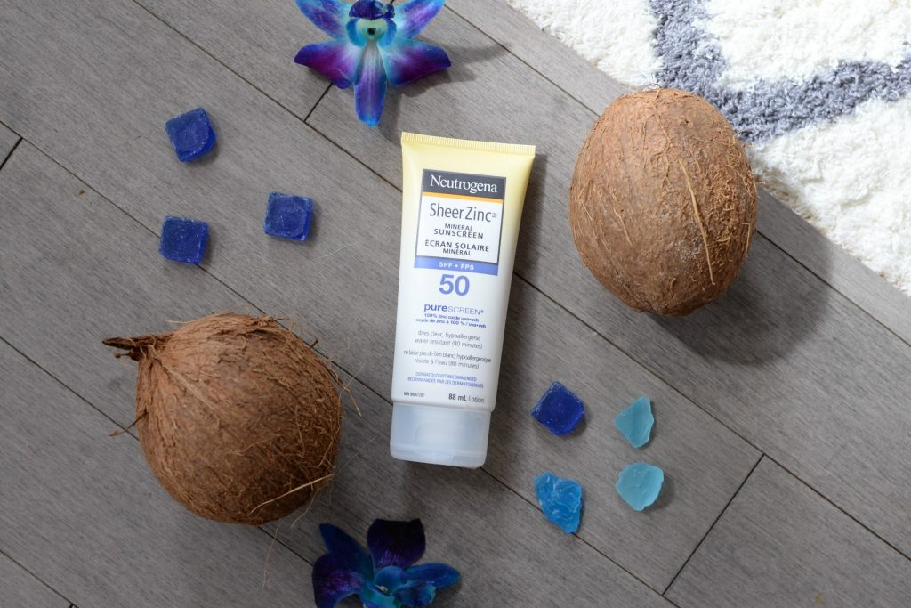 Neutrogena Sheer Zinc Mineral Sunscreen SPF 50 Body Lotion