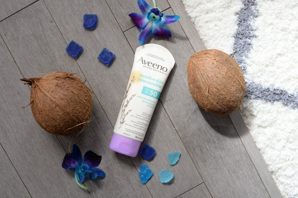 Aveeno Active Naturals Sensitive Skin SPF 50 Mineral Sunscreen