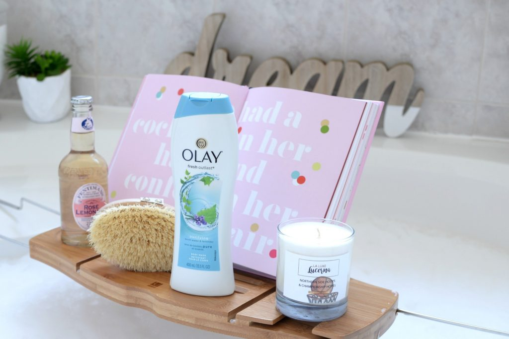Olay Fresh Outlast Purifying Birchwater & Lavender Body Wash