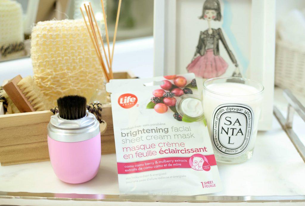 Life Brand Brightening Facial Sheet Cream Mask