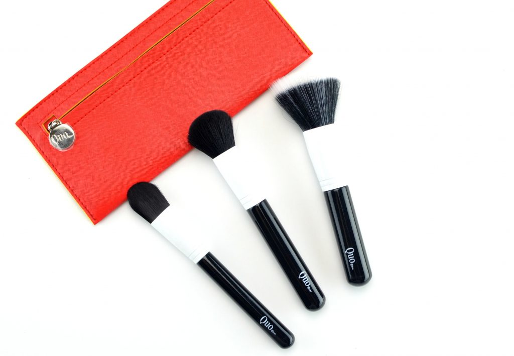 Quo Flawless Face 3 Piece Brush Set