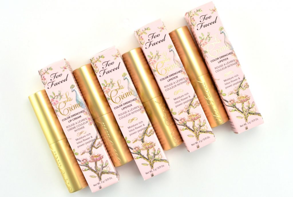 Too Faced La Crème Color Drenched Lipstick