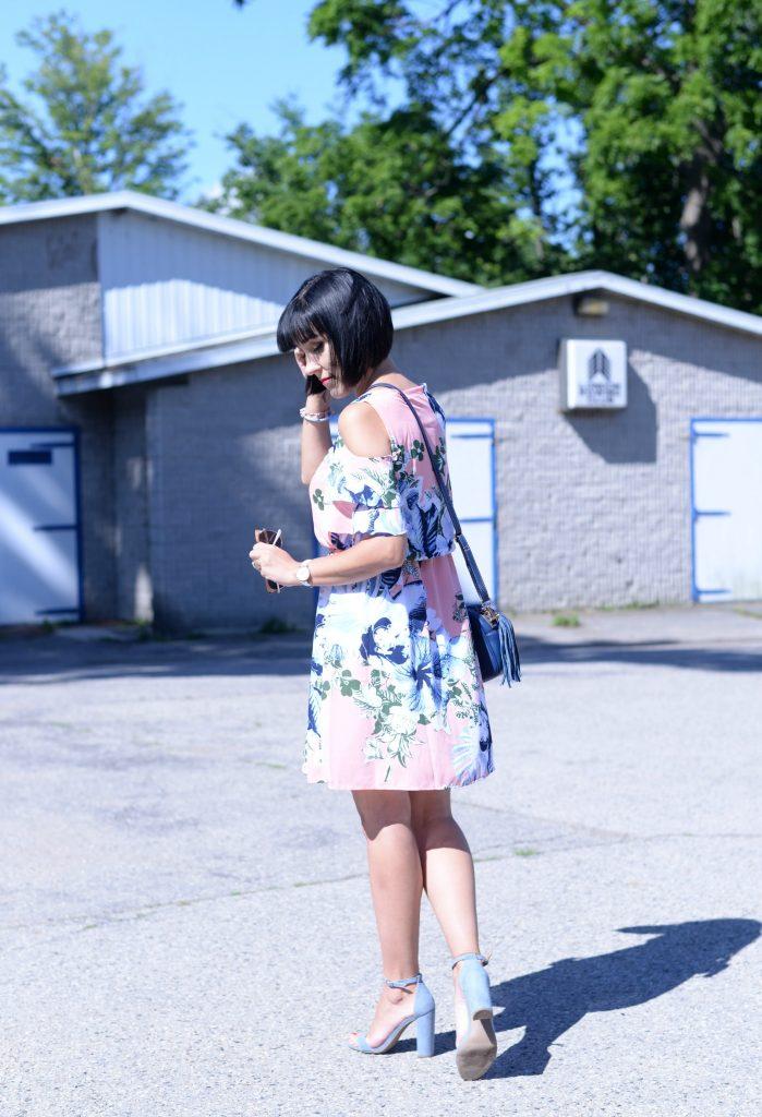Off-The-Shoulder or Cold-Shoulder Dress