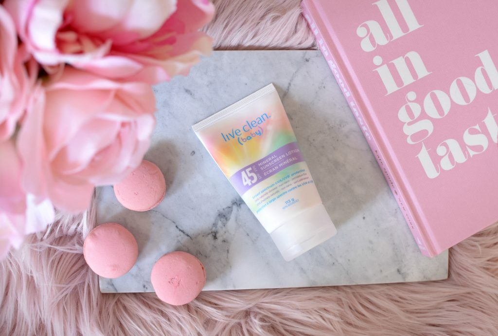 Live Clean Baby Mineral Sunscreen Lotion SPF 45