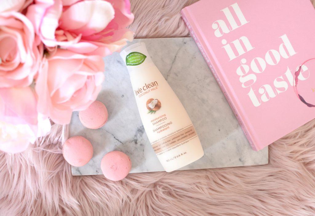 Live Clean Coconut Milk Moisturizing Shampoo