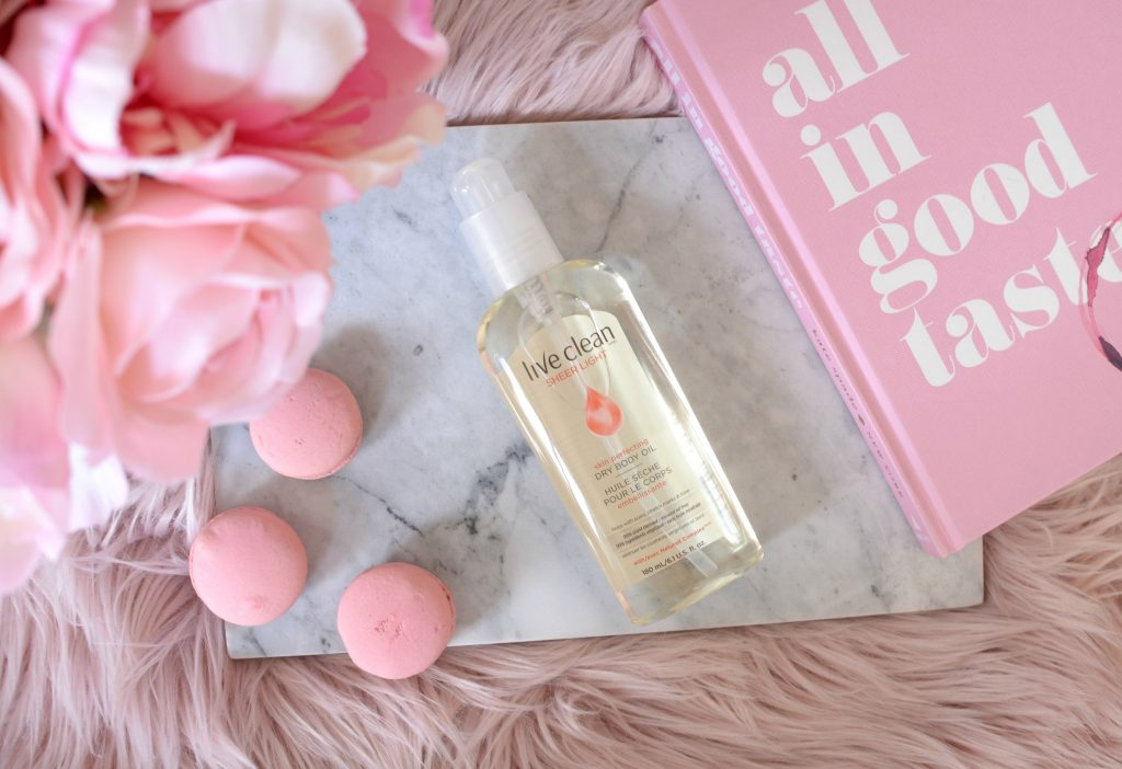 Live Clean Sheer Light Skin Perfecting Dry Body Oil