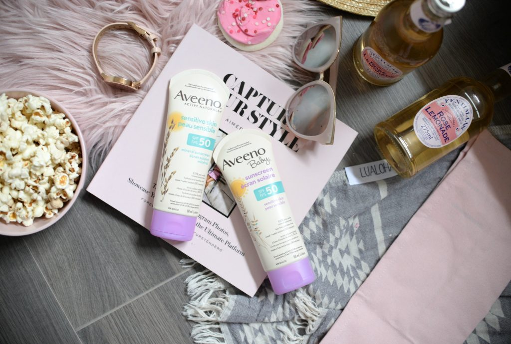 Aveeno Active Naturals Sensitive Skin SPF 50