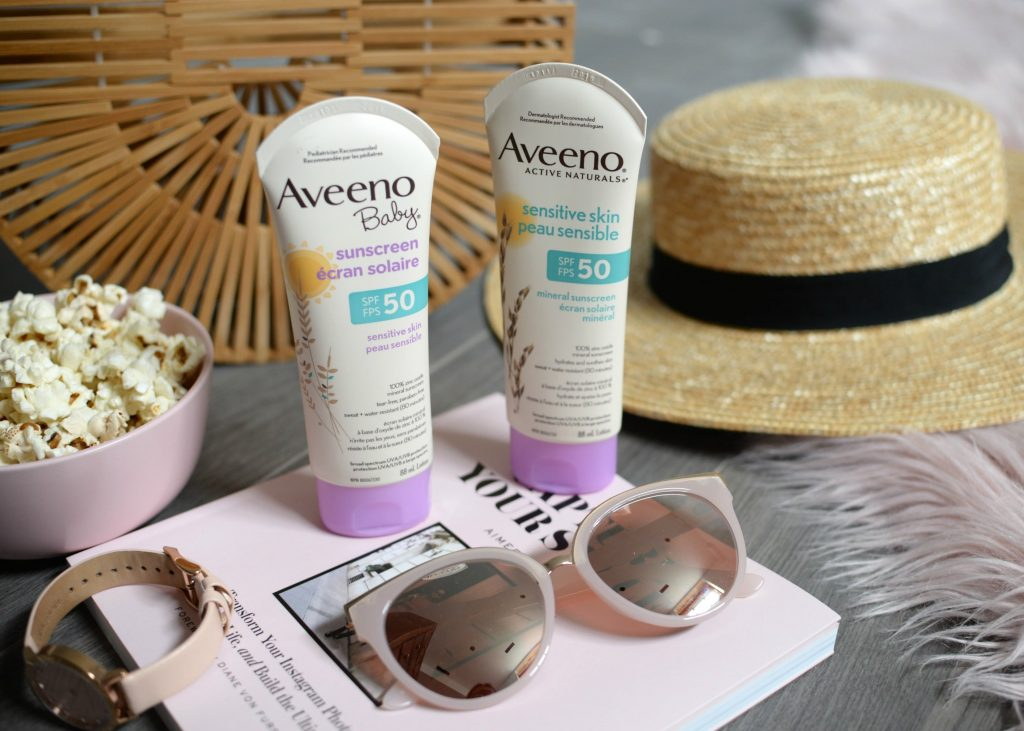 Aveeno Active Naturals Sensitive Skin SPF 50
