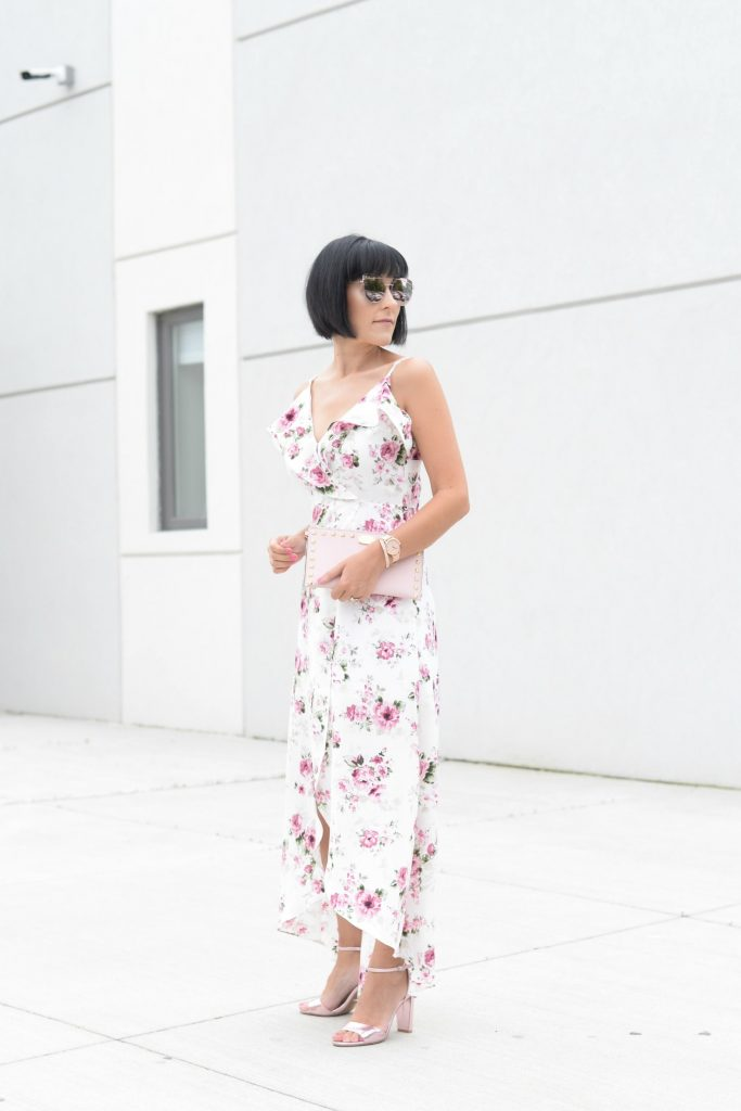 You Need This Floral Dress