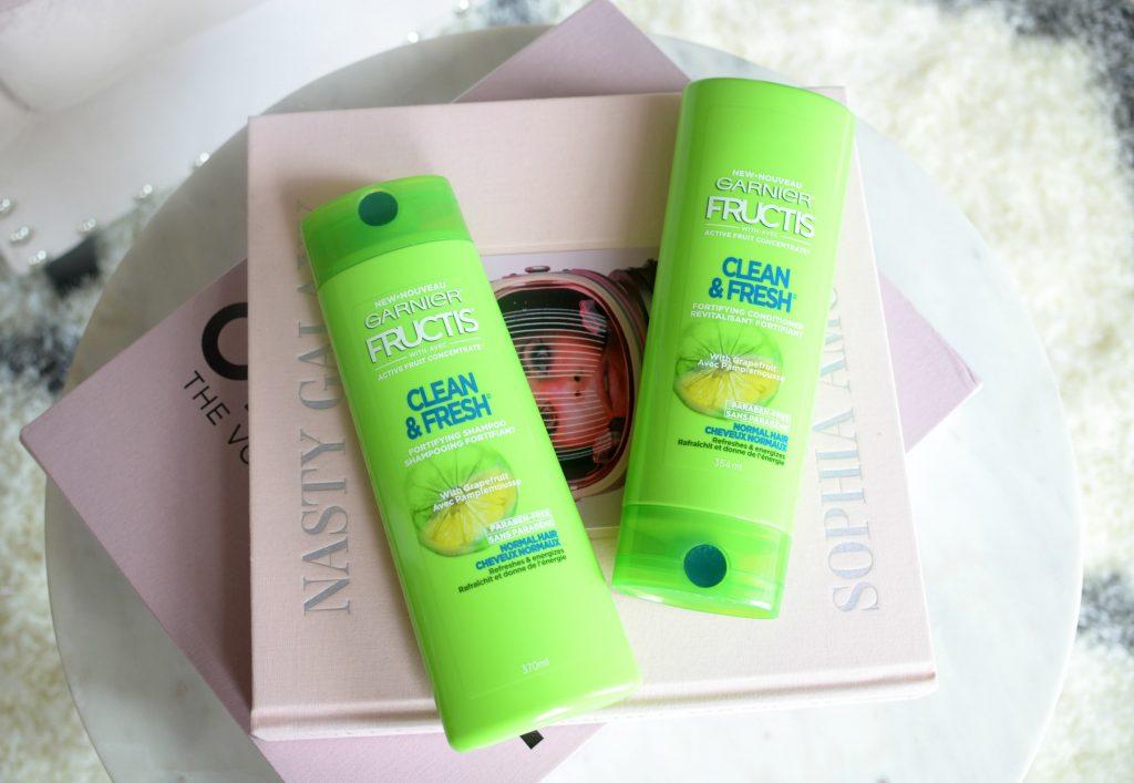 Garnier Fructis Clean & Fresh Fortifying Shampoo
