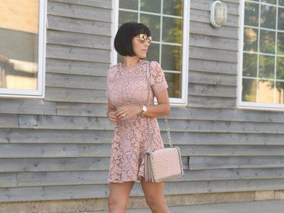Millennial pink dress