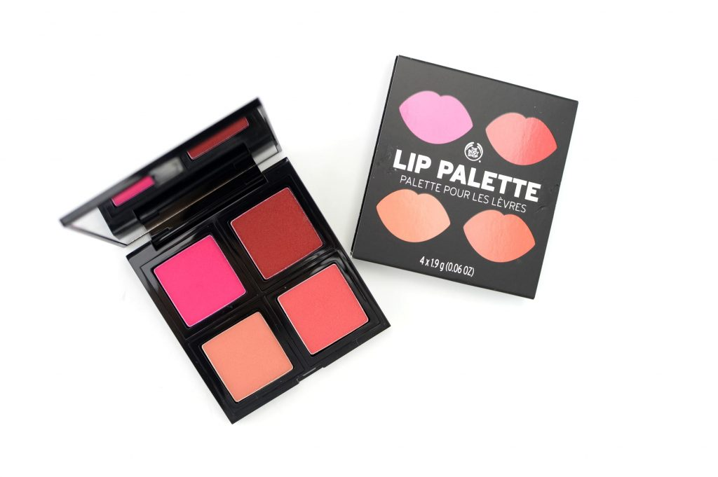 The Body Shop Lip Palette