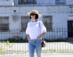 boater hat, canadian fashion blogger