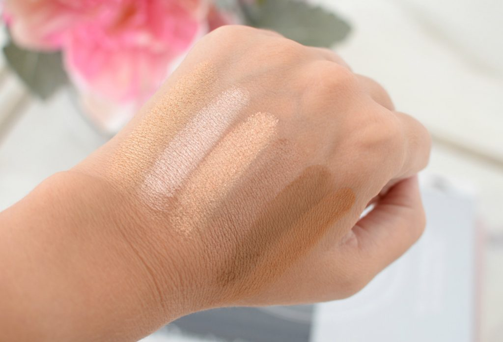 Pixi + Maryam Maquillage Strobe & Bronze Glow & Bronze Palette