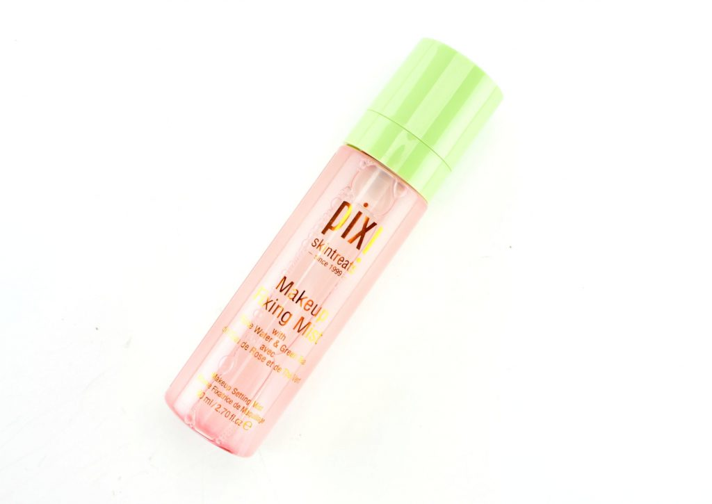 Makeup Fixing Mist with Rose Water and Green Tea