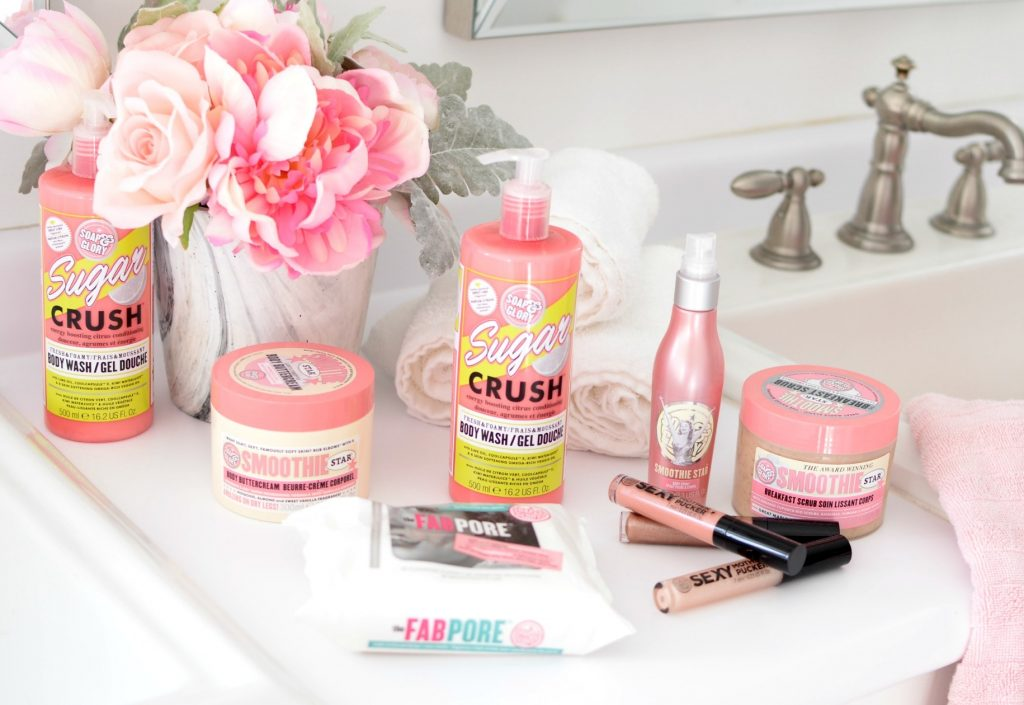 Spa Day with Soap & Glory