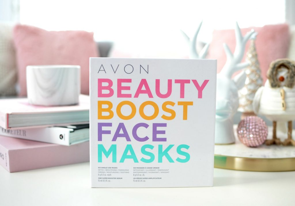 Avon Beauty Boost Face Masks Kit