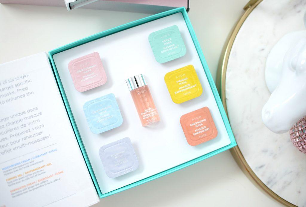 Avon Beauty Boost Face Masks Kit