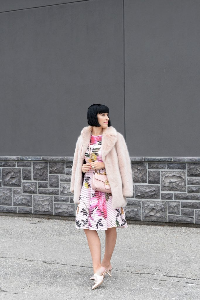 How to Wear a Floral Dress All Year Long