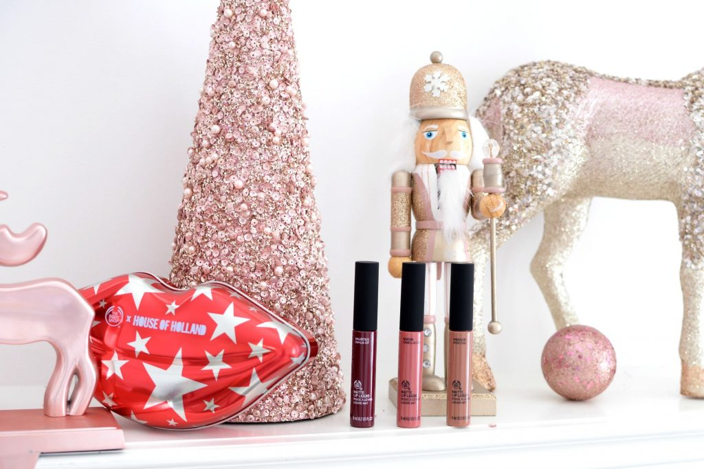 The Body Shop X House Of Holland Matte Liquid Lipstick Collection