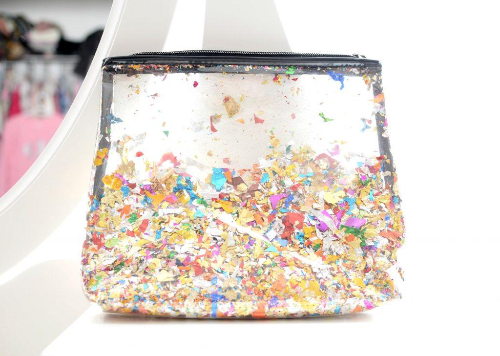 Sephora Collection Let's Disco Confetti Travel Bag
