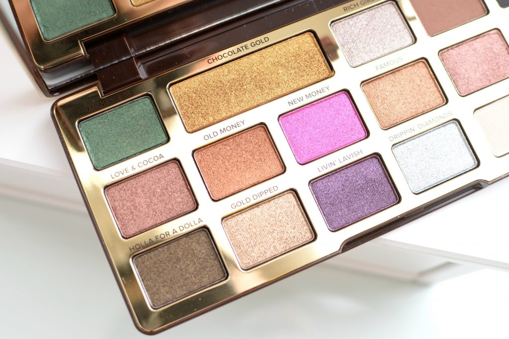 Too Faced Chocolate Gold Metallic/ Matte Eye Shadow Palette