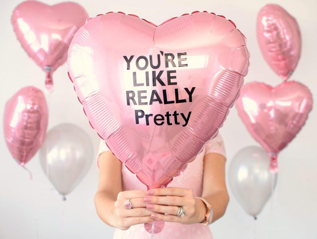 personalize balloons