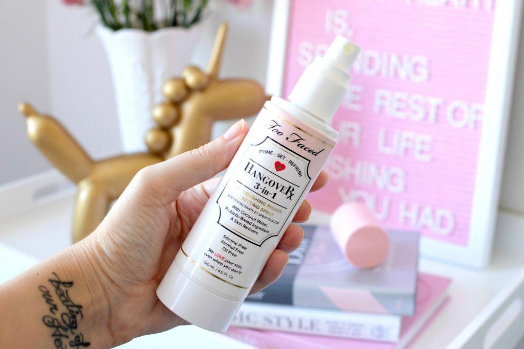 too faced HangoverX 3-in-1 Replenishing Primer & Setting Spray