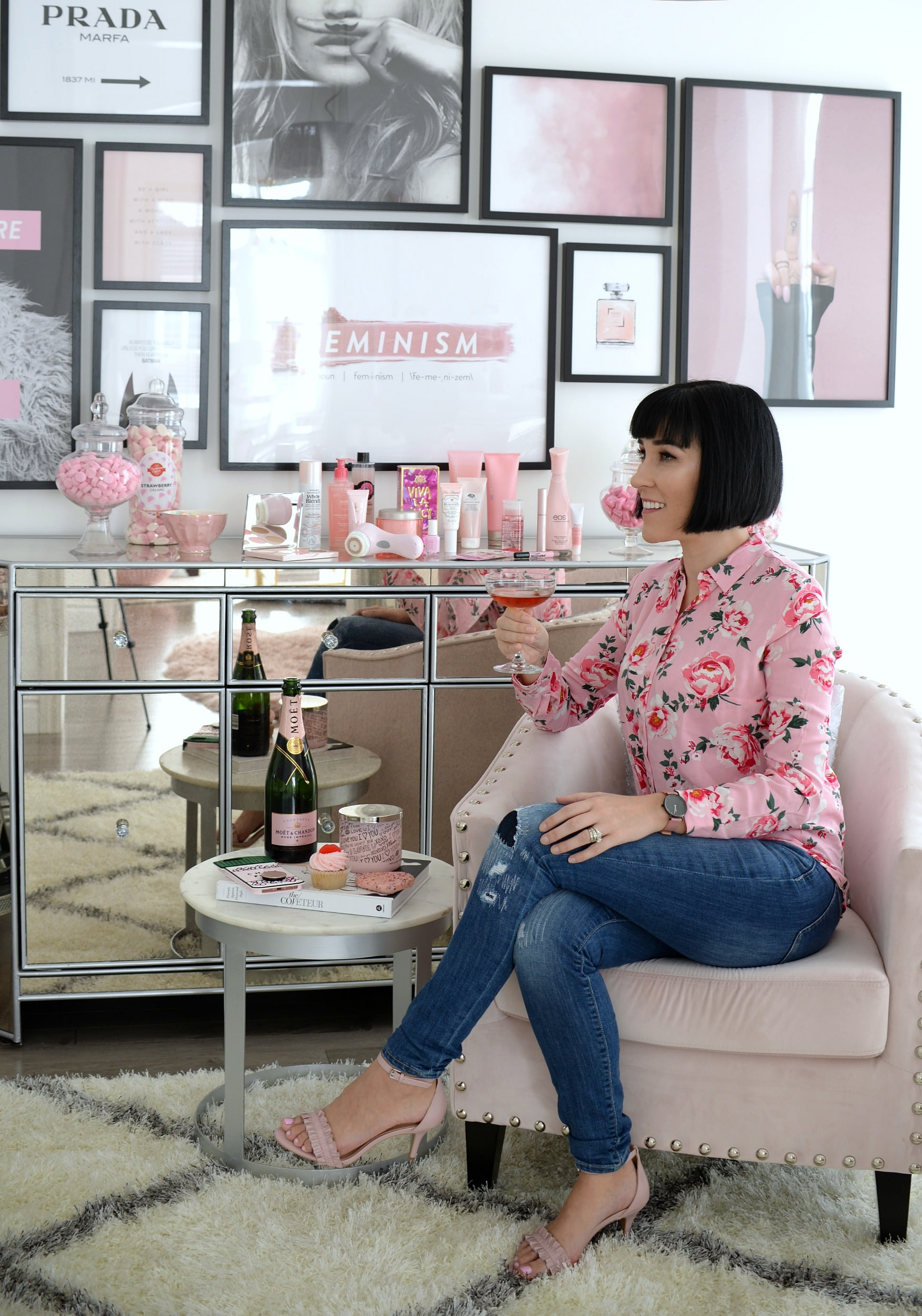 Millennial Pink Beauty Products