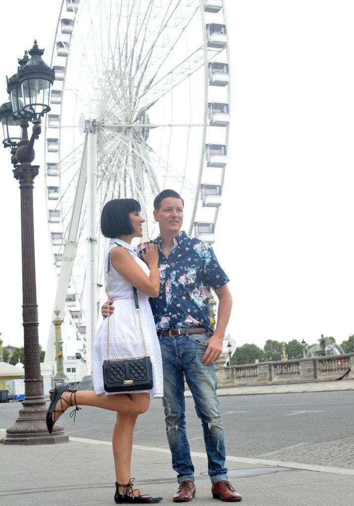 Big Wheel on Place de la Concorde