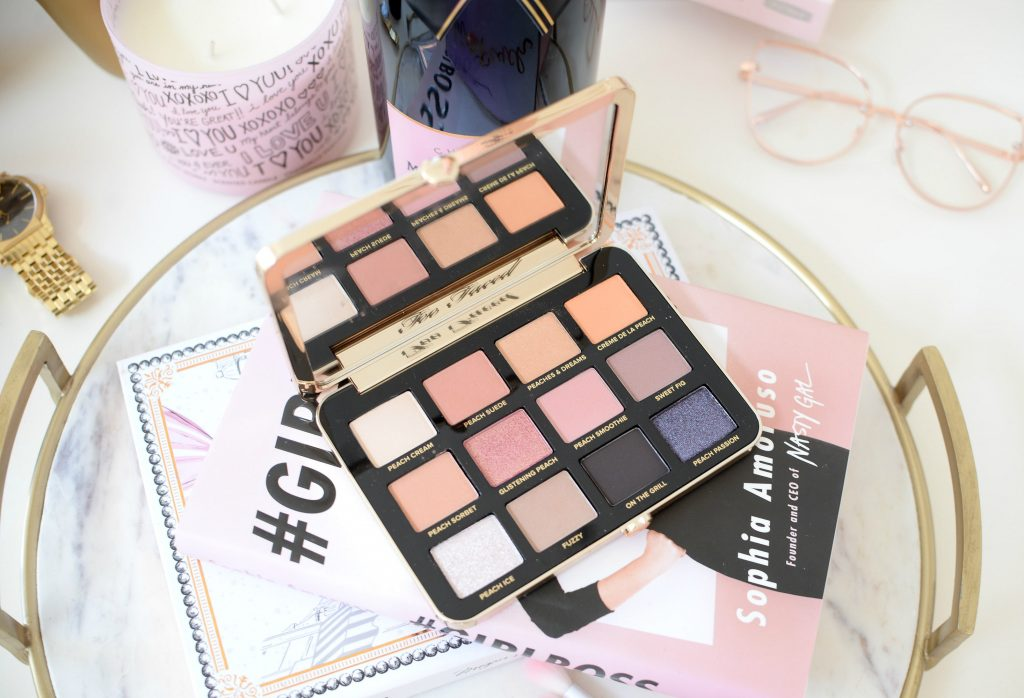 Too Faced White Peach Eye Shadow Palette