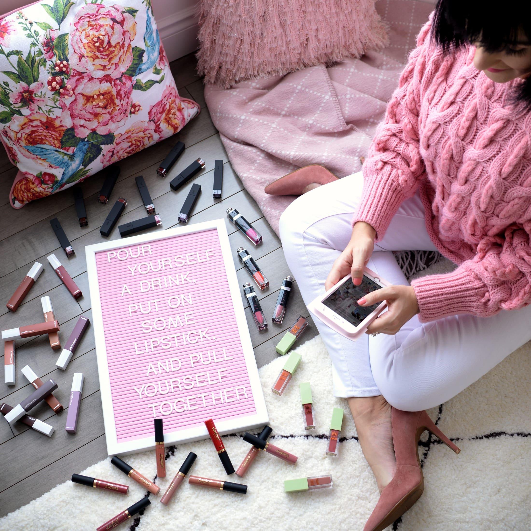 top liquid lipsticks, must-have lipsticks for spring, spring 2018 liquid lipsticks, beauty blogger