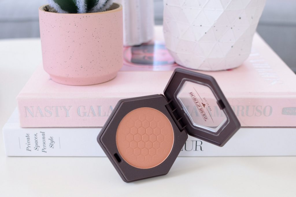 Burt's Bee Blush in Bare Peach