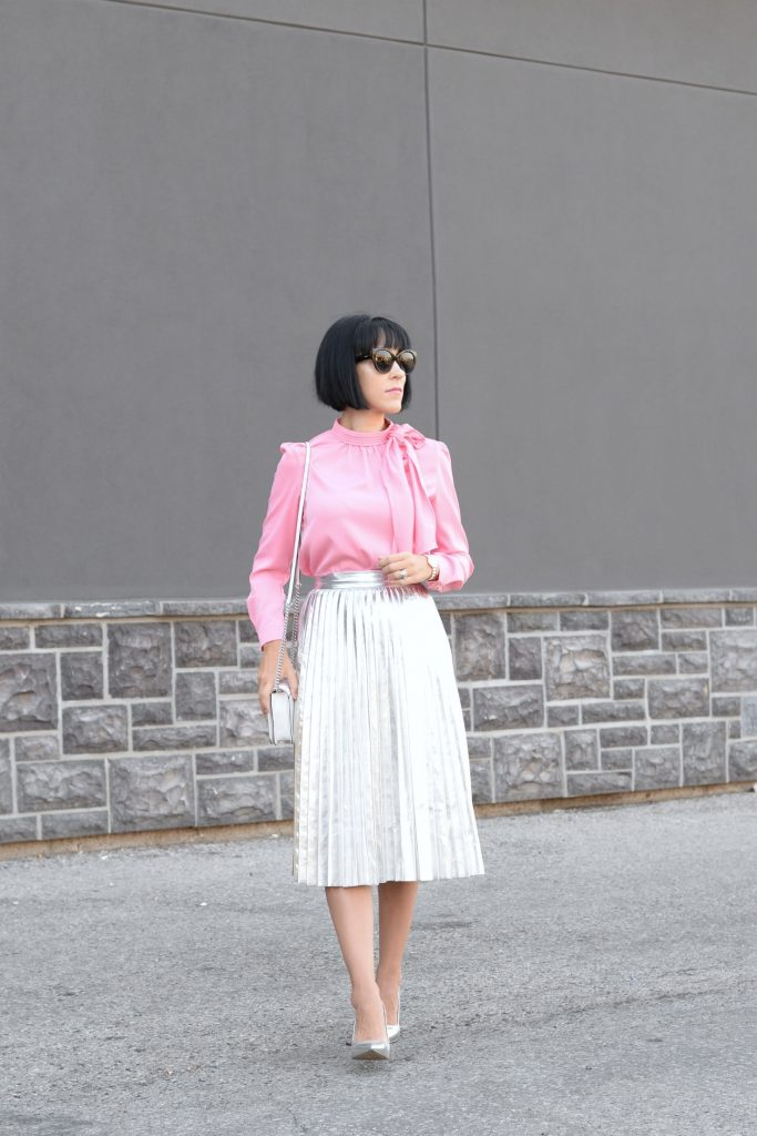 How To Wear The Metallic Trend Like A Style Blogger
