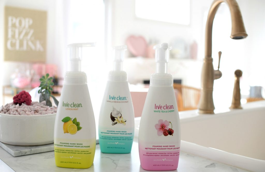 Live Clean Foaming Hand Washes