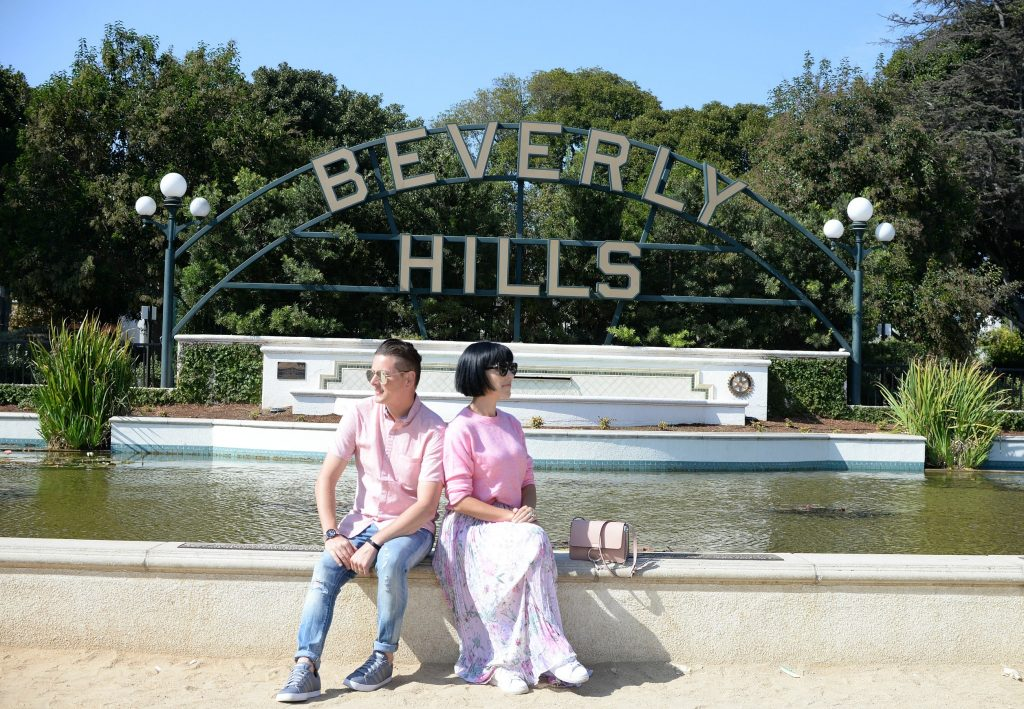 "Most Instagram Worthy Places in LA, Hollywood sign, Rodeo Drive in Beverly Hill, Beverly Gardens Park, Beverly Hills Sign, The Los Angeles County Museum, Santa Monica Pier, venice beach, Paul Smith pink wall, Made in LA Sign, California Dreaming ""Angel Wings"", The Ivy, The Beverly Hills Hotel"