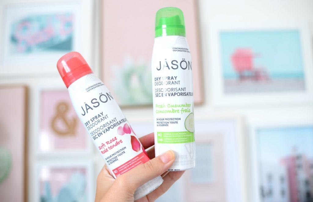 JĀSÖN Dry Spray Deodorants